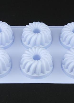 Форма силиконовая для кексов.