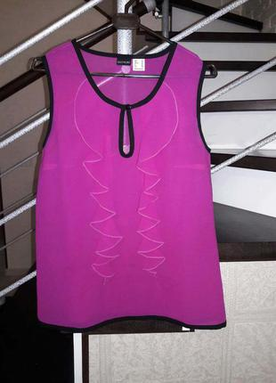 Шикарная блуза с рюшами