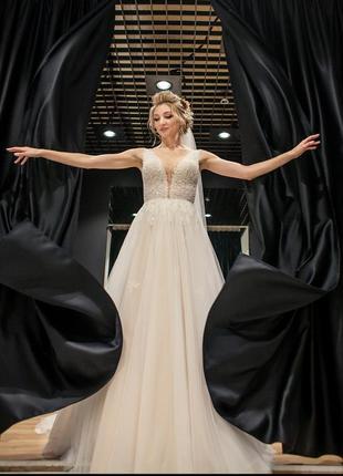Весільна сукня свадебное платье от pollardi
