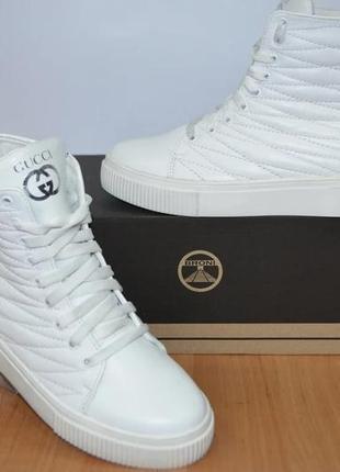 Зимние ботинки белые 36-41р