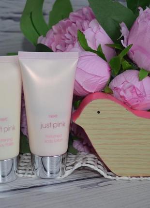 Фирменный набор парфюмированный лосьон для тела и полироль для тела next just pink 50 ml