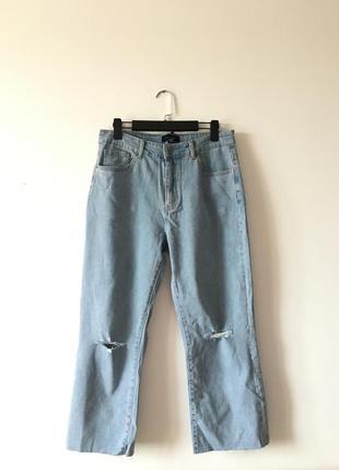 Джинсы мом,джинсы бойфренд ,светлые джинсы
