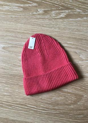 Шапка бинни gap / вязаная шапка
