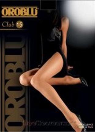 Элитные фирменные итальянские тонкие колготы oroblu club 15 – 15den