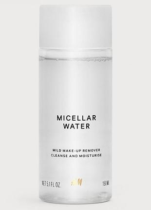 Оригинальная мицеллярная вода от бренда h&m разм. 150мл