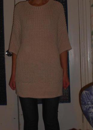 Кофта груба вязка  свитер