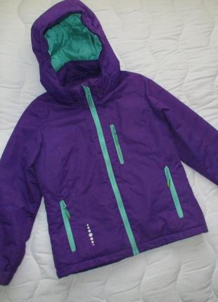 Стильная куртка future sportswear  на холодную осень, рост 130 см, девочке 7-9 лет