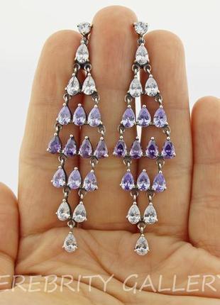 10% скидка подписчику серьги серебряные e 2360 l.w серебро 925 сережки срібні