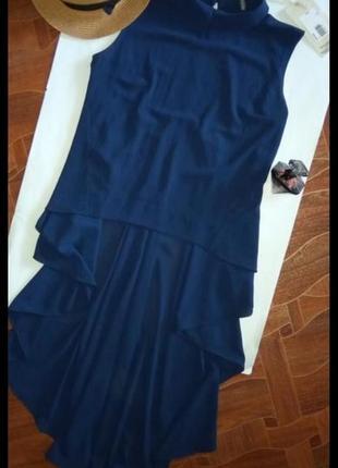 Блуза со шлейфом италия,новая размер л
