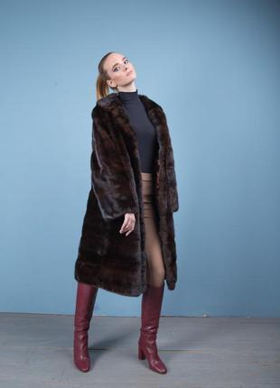 Норковая шуба шикарное норковое пальто италия новая коллекция зима 2020-2021