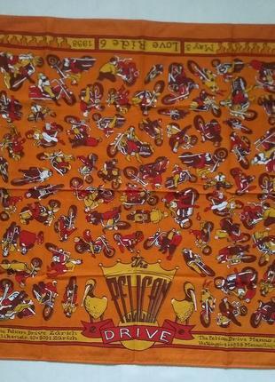 Бандана harley davidson pelican drive zurich 1998 платок оригинал