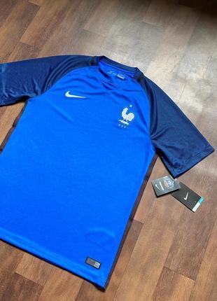 Футбольная спортивная футболка nike dri-fit fff оригинал