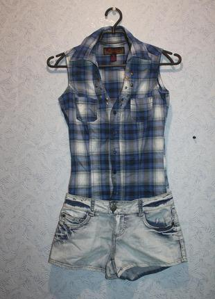 Ромпер рубашка+шорты