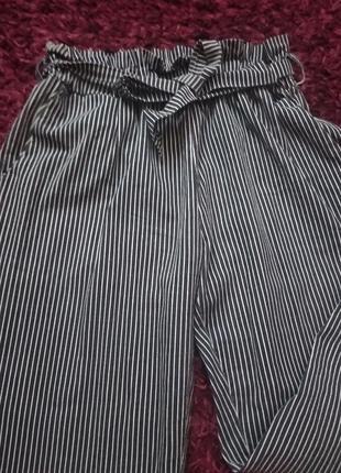 Штаны-брюки в полоску