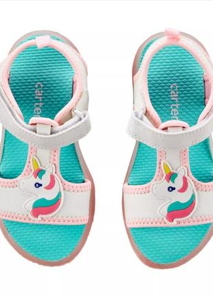 Босоножки, сандали с единорогами