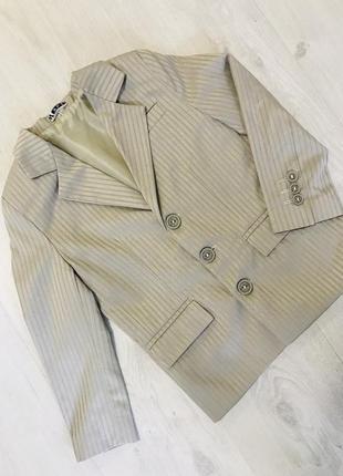 Пиджак детский 3-4года
