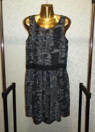 Платье mango casual индия бохо р. м кежуал вискоза