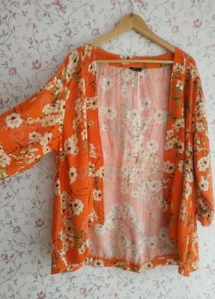Накидка летняя вискоза кимоно