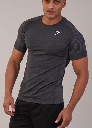 Мужская футболка gymshark ghost оригинал