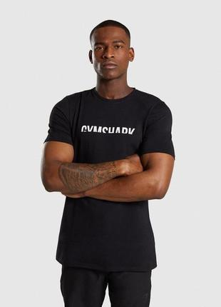 Мужская футболка gymshark divide оригинал