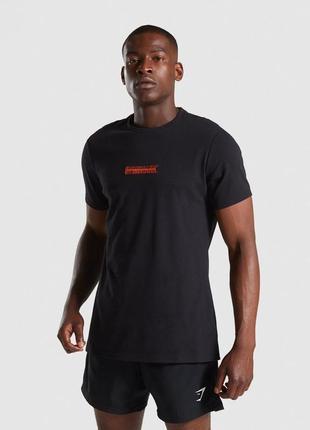 Мужская футболка gymshark embroidered оригинал