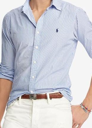 Стильная рубашка знаменитого американского бренда ralph lauren