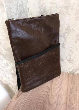 Кожаная сумка, сумка на пояс