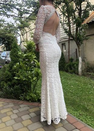 Платье вечернее нарядное