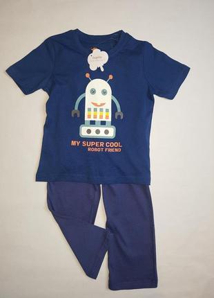 Пижамка- футболка, штанишки