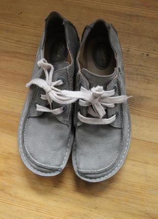 Роскошные кожаные ботинки