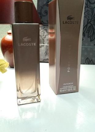 Женская парфюмерная вода lacoste
