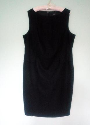 Льняное платье-футляр