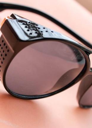 Солнцезащитные очки мужские авиаторы дешево черные