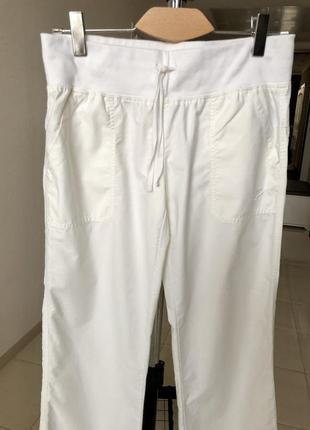 Белые спортивные брюки nike оригинал