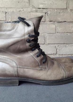 Д/с, легкая зима ботинки натуральнейшая кожа.норвежские. ffp.42p