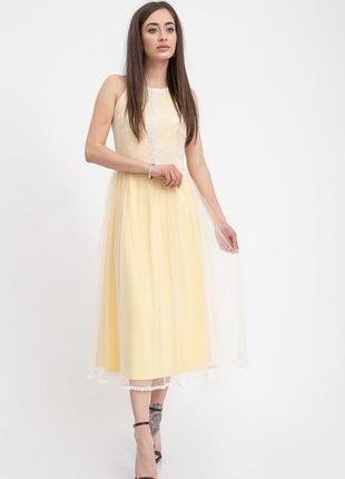 Длинные платья с кружевным верхом