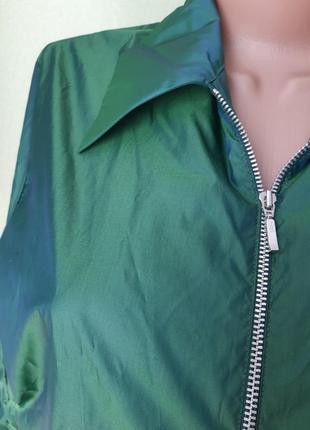 Ветровка блузка хамелион8 фото