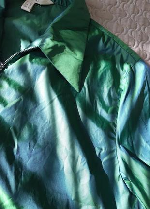 Ветровка блузка хамелион9 фото
