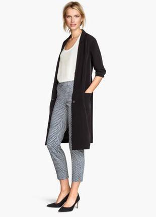 Модные укороченные, зауженные брюки h&m. 38 евро