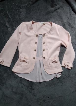 Милый пиджак, розовый пиджак