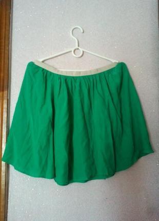Яркая летняя юбка topshop
