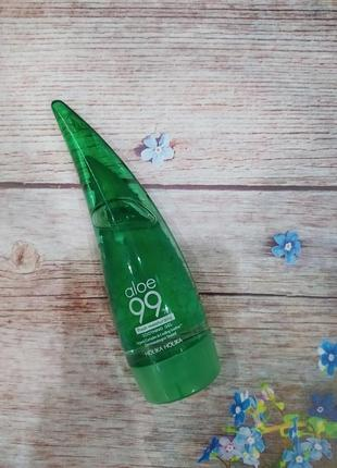 Гель алое увлажняющий универсальный holika holika aloe 99% soothing gel