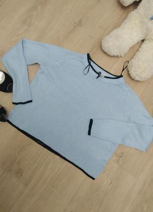 H&m. стильный топовый свитерок. р. 42-46