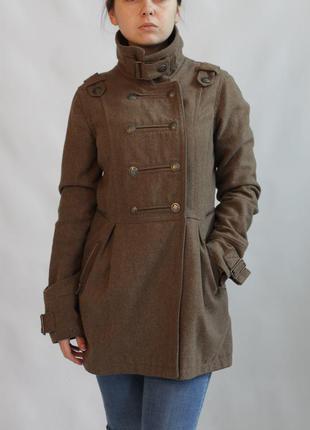 Крутое пальто bershka