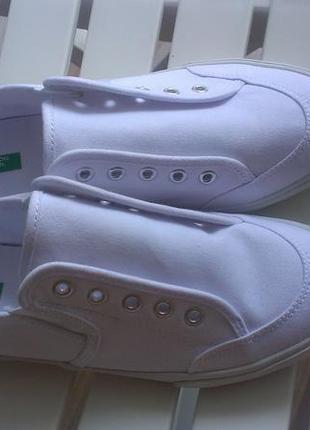 3c6677c7 Модные кеды, модель без шнурков от benetton, 38 размера United ...