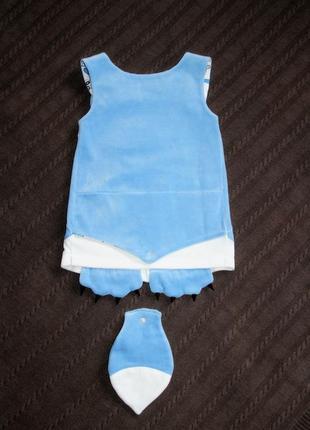 Сарафан на малышку, велюровое платье китти, детский сарафан малышке, дитяча сукня,7 фото