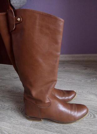 Сапоги коричневый цвет!!