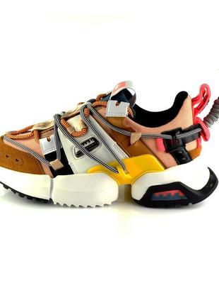Кросівки жіночі яскраві allshoes yellow