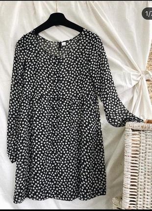 Прозрачная накидка/платье divided