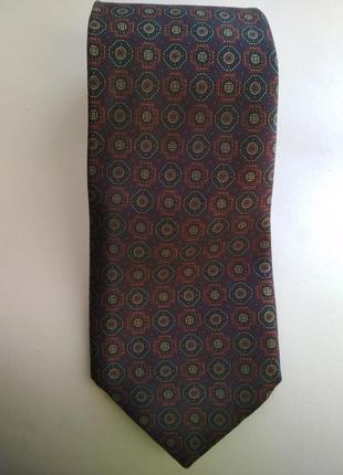 Брендовый мужской галстук bhs шелк